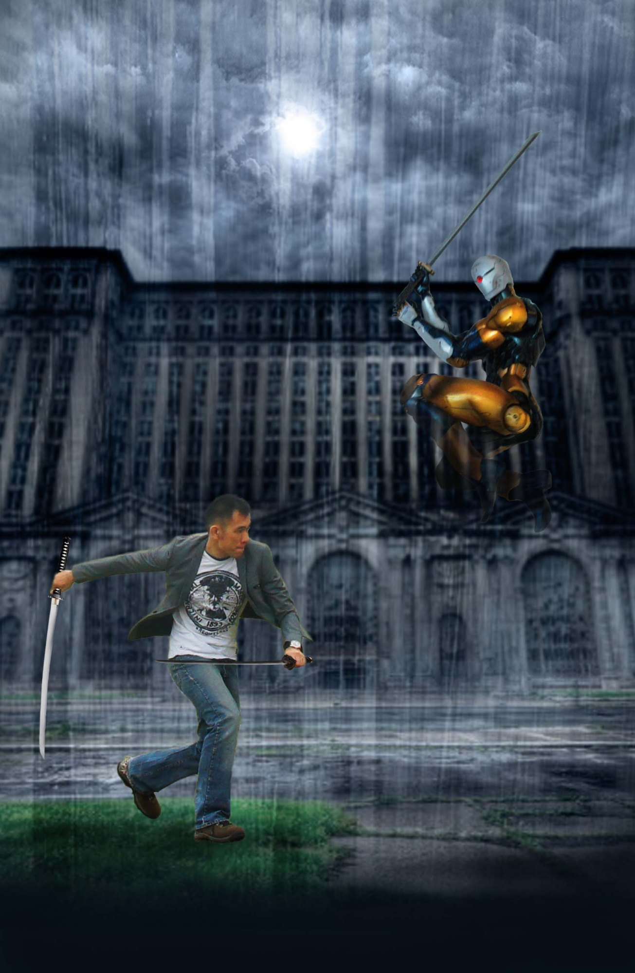cyborg assassin 001