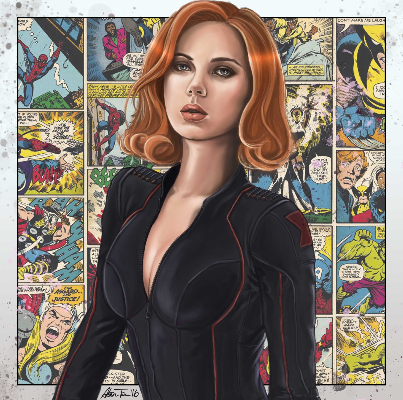 black widow real